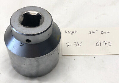 Wright 2-316 12-point Socket 34 Drive 6170 Free Shipping