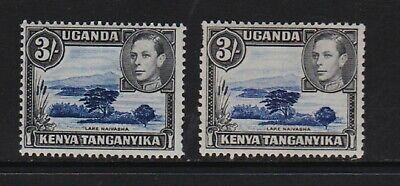 Kenya Uganda Tanganyika - #82, #82a mint, cat. $ 80.00