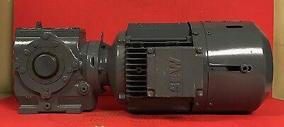 Sew Eurodrive Type Sa47t Dt90l4tfes1s Gearmotor - 1 12 Hp 277480v 1720rpm