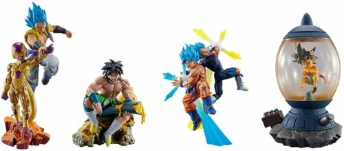 Dragon Ball Super Power Awakens Dracap Rebirth Set of 4 figure Diorama