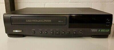 Samsung VR5704 VCR  Recorder No Remote  - Working! 4 Head Digital Auto Tracking  (Digitale Vcr-recorder)