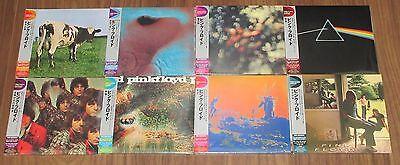 Japan PROMO issue! Still SEALED! Japan PINK FLOYD card sleeve CD x 8 set OBI