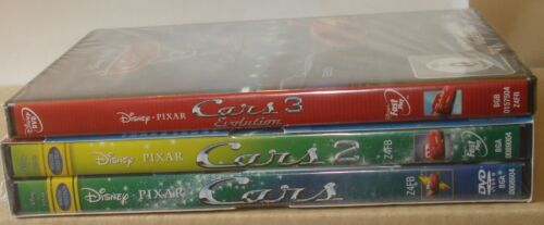 Cars 1- 3 DVD NEU OVP Cars 1 + Cars 2 + Cars 3  [3 DVDs]