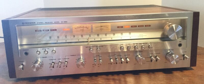 Pioneer SX-950 Stereo Receiver Tested, works great!