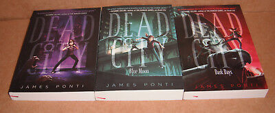 Dead City: Dead City Vol. 1,2,3 by James Ponti  Paperback
