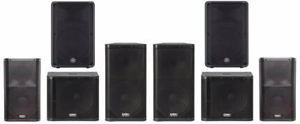Buzz Speaker Hire Sydney PA & DJ Equipment - BEST PRICE GUARANTEE Darlinghurst Inner Sydney Preview