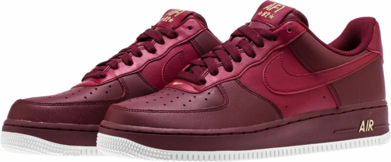 buy popular 66cf6 f83ac Nike Air Force 1  07 Casual Shoes Team Red Summit White AA4083-603 Men s