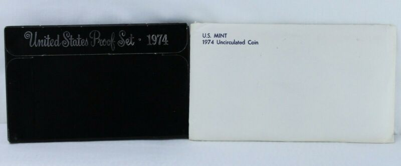 1974 P D S Proof and Uncirculated Annual US Mint Coin Sets 18 Coins Bundle PDS