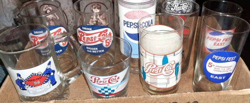 Vintage Pepsi Glasses