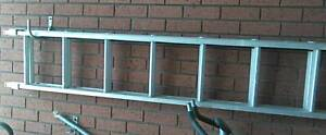 Aluminium Industrial Ext. Ladder 3.1 to 5.3m As New Condition