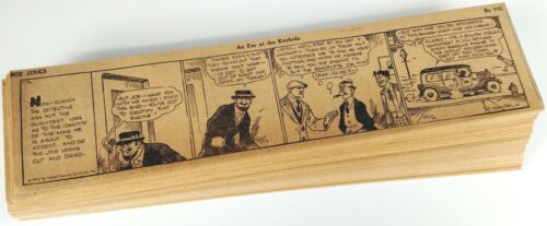 JOE JINKS (1933) - 307 Daily Comics - by VIC FORSYTHE