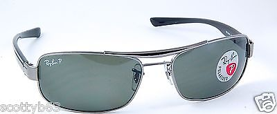 RAY BAN BRAND NEW  RB 3302 004/9A SUNGLASSES RB3302 RAYBAN POLARIZED! on Rummage