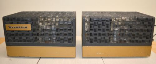 Pair of Restored Heathkit W-5M High Fidelity Tube Amplifier Amps