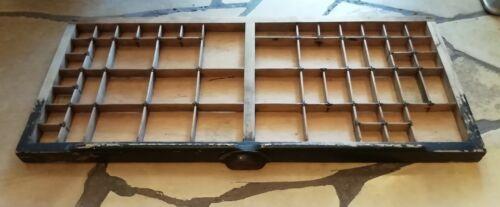 Setzkasten alt antik original Schublade gebraucht