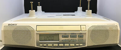 Sony ICF-CD513 Under Cabinet Counter Clock Radio AM/FM CD Player