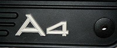 2003 TO 2008 Audi A4 Sedan/Wagon Factory Accessory Rubber Floor Mats - Set of 4