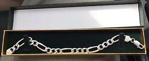 Men's Silver Bracelet With Box