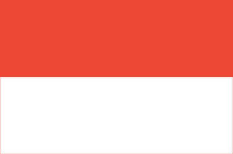 OUTBOUND Flag Of indonesia 5x3 (Poland)