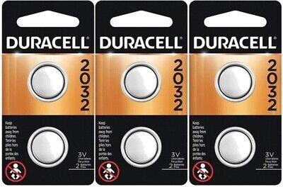 6 x 2032 Duracell Coin Cell Batteries - Lithium 3V - (CR2032, DL2032, ECR2032) comprar usado  Enviando para Brazil