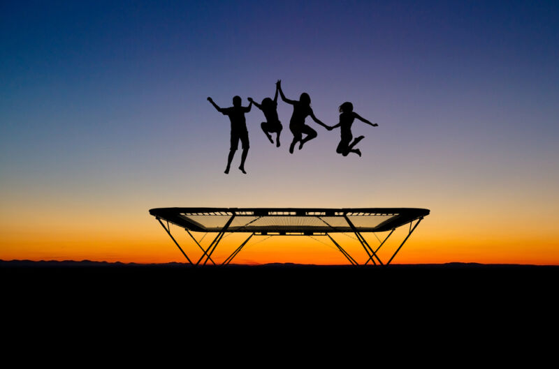 Trampolining can help keep you and the whole family healthy and happy