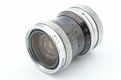 Vintage lenses KERN SWITAR H16 10MM