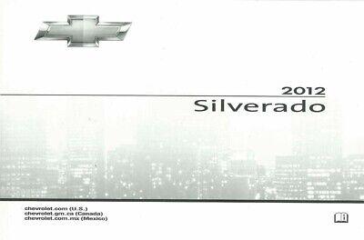 2012 Chevrolet Silverado Owners Manual User Guide