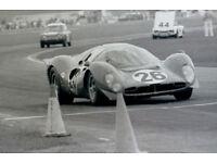 Vintage 8 X 10 1967 Daytona 24 Ferrari 330 P4 Winner