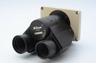 Clean Glass Nikon Diaphot Binocular For Eyepieces 23mm Needs To Screws 20834