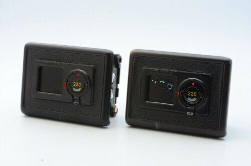 PENTAX 220 Film Back Holder Insert x2 for Pentax 645 645N 645NII 18434