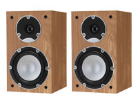 tannoy mercury 7.1 speakers in light oak..new/unused/boxed with long 6 year warranty