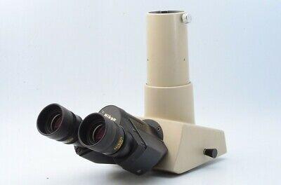 Nikon Trinocular Microscope Head Cfw10x Cm For Labophot Optiphot Alphahot 21179