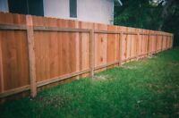 6 ft Full Privacy Fence $31/ft