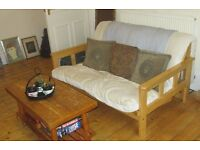 Futon sofabed - very comfortable - good condition