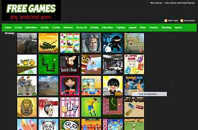 Exciting Game Store Website  Free Installation Hosting