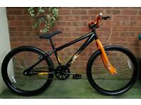 "X rated exile dirt/jump/bmx bike,24""wheels"