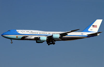 AIR FORCE ONE MIXED AIRCRAFT Bundle 5 -  EIGHT 6x4 prints for price of 4 -