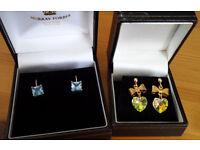 Earrings x 2 pairs