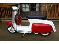 Lambretta j50 1967 50cc moped fully restored £1750 or best offer