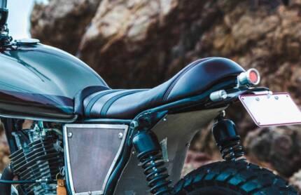 Custom Motorcycle Seats Cafe Racer