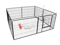 8 Panel Puppy Play Pen/ Rabbit Enclosure.