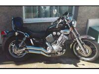 Yamaha xv virago.535 cc year 2000 low low miles