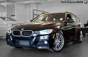 2014 BMW 328d DIESEL // MSPORT // TOURING // CUIR ROUGE