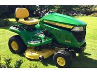 "John Deere X300 Ride on mower - 42"" Mulch deck - Lawn tractor - Kubota/Countax/Honda/Stiga"