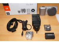 Sony NEX 3 Boxed Camera (Body Only) + Original Accessories and 140 Page Manual PLUS Tripod