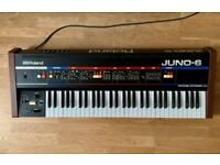 Roland Juno-6 Classic Analogue Polyphonic Synthesizer Juno 6