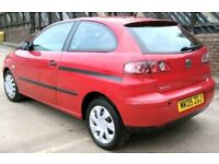 CHEAP 05 Seat Ibiza 1.4 Tdi F.S.H 1 YEAR MOT 1 OWNER LOW MILES (YARIS MICRA FIESTA POLO CORSA)
