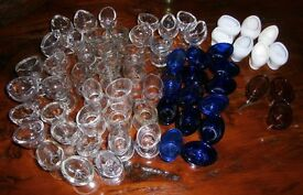 Lot of 60+ old eybaths eye glasses antique and vintage