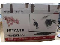 """42"""" LED Smart TV - Hitachi"""