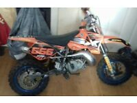 ktm sx 50 and training wheels £500