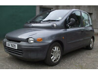 Fiat Multipla 115 SX JTD Diesel Very Low Mileage , Well Maintained V Good MPG and Megga Practical